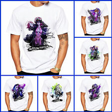 Anime Overwatch OW Short Sleeves Genji Coat Top Tee T-shirt Cosplay Widowmaker