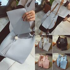 2X Fashion Women Hobo Leather Shoulder Bag Messenger Purse Satchel Tote Handbag