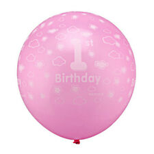 20Pcs/kit Baby First 1st Birthday Balloons Printed Number 1 Party New Decor Gift