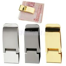 Exquisite Stainless Steel Money Clip Cash ID Credit Card Holder Man's Accessory
