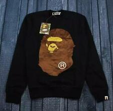 Men's Cotton Japan Ape Significant Icon Long Sleeve Bape Crew Sweater Jacket