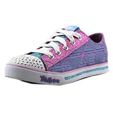 Twinkle Toes By Skechers S LIGHTS SPARKLE GLITZ Youth  Blue Sneakers