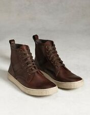 John Varvatos Star USA Men's Bedford Trooper Sneaker Boot Brown $298 msrp NIB