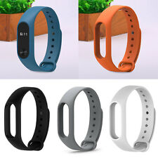 Silicone Soft Wrist Strap Wrist Band Bracelet Replacement For Mi Band 2