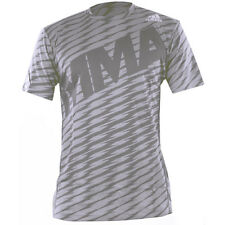 Adidas Top Game Short Sleeve MMA Rashguard - Granite/Beluga/Black