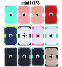 Shockproof Smart Cover Tablet Case For Apple iPad Mini 1/2/3 7.9inch Rear Guard