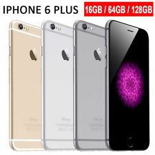 Apple iPhone 6 Plus- 128GB (Unlocked) Smartphone Space Gray - Silver - Gold