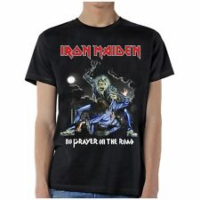 Iron Maiden No Prayer On The Road Metal Music Band Rock Mens T Shirt IRM10652