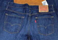 Levis 514 Slim Straight Leg Mid Rise Men's Brown Blue Pants Jeans Sz 34x30 34x34