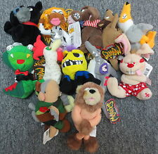 Lot of 11 Meanies Plush Series 1-3 w/ Holiday (Chicken Pox Moodonna Bare Bear)