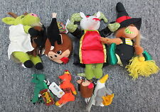 Lot of 9 Meanies Plush Keychain Series 1 & Exclusives (Goata Queen Armadillo+)