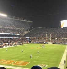 2 Chicago Bears vs Detroit Lions Tickets 11/19/17 Soldier Field Section 220