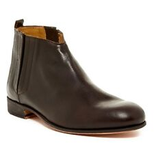 Billy Reid Men's Banks Ankle Boot Brown Leather Made in Italy $495 msrp NIB