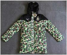 NWT Men's Japan Version Camo Hoodies Winter Jacket Bape Hoodie Hot Sale Coat