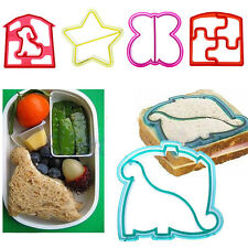 Sandwich Toast Cutter Mold Cookie Cake Bread Biscuit Animal Shape Mould DIY Tool