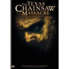 The Texas Chainsaw Massacre (DVD, 2004, Single Disc Widescreen) Free Shipping