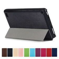 "For 7"" Amazon Kindle New Fire 7 2017 PU Leather Stand Flip Case Cover Skin +Film"