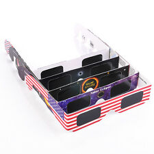 Hot 10pcs Solar Eclipse Glasses 2017 Galaxy Edition CE and ISO Standard Viewing