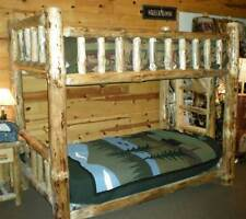 Rustic Pine Bunk Bed [ID 100560]