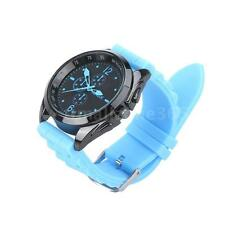 Colorful Men Women Stylish Silicone Strap Casual Wrist Watch Unisex Gifts V5T7