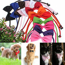 Cute Pet Dog Puppy Cat Adjustable Bowknot Collar Bowtie Necktie Bow Tie