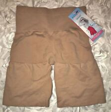 ASSETS SPANX Focused Firmers NUDE Ultra Control Mid Thigh Slimmer Womens Sz XL