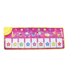 BABY KID EDUCATIONAL ANIMAL TOUCH PLAY PIANO KEYBOARD MAT MUSICAL CARPET STRICT