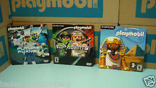 Playmobil Video Games DVD-ROM PC/MAC Top Agents Future Planet Egyptian CD 126