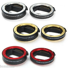 10mm 16mm Auto Focus Macro Extension DG Tube Set for Sony E-mount DSLR Camera