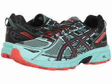 ASICS GEL VENTURE 6 ICE GREEN CHERRY TOMATO WOMENS SHOES  ** WORLDWIDE SHIPPING