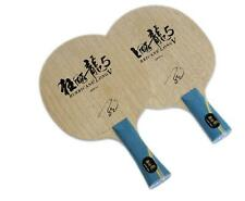 DHS Hurricane Long V 5 Table Tennis Ping Pong Blade Racket Paddle + rubber bag &