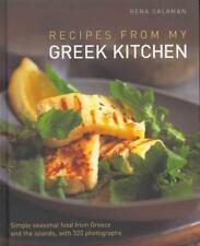 RECIPES FROM MY GREEK KITCHEN - SALAMAN, RENA - NEW HARDCOVER BOOK