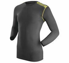 EVS Tug Mens Long Sleeve Cold Weather Compression Shirt Black