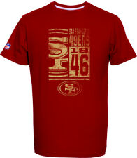 San Francisco 49ers T - Shirt Tee,NFL Football,100% BW,Logo,Team,from Majestic