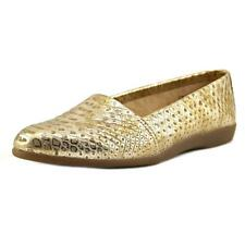 Aerosoles Trend Setter Women  Round Toe Leather Gold Loafer