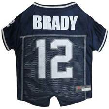 DOG JERSEY Tom Brady #12  New England Patriots * NFL Football Team Fan Pet Shirt