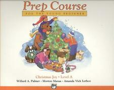 ALFRED'S BASIC PIANO LIBRARY PREP COURSE FOR THE YOUNG BEGINNER, CHRISTMAS JOY!