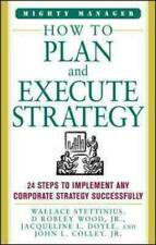 HOW TO PLAN AND EXECUTE STRATEGY - NEW PAPERBACK BOOK