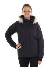 Nikita Between-seasons Jacket Hooded jacket black Tundra warming