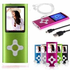 "8GB 16GB 32GB Portable Digital Mp3 Mp4 Player 1.8"" LCD FM Radio Games&Video Hot"