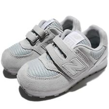 New Balance KV574C9I W Wide 574 Grey White Suede Kids Toddler Infant KV574C9IW