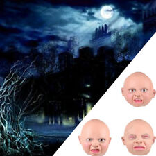 Full Overhead Ugly Baby Fancy Dress Costume Rubber Halloween Stag Freshers Mask