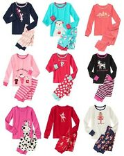 NWT GIRLS GYMBOREE 2 PIECE GYMMIES PJS PAJAMAS SETS SIZES 12-18 18-24 2T 3 4 5 6