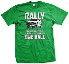 Mens Rally T-Shirt Takes Two Balls Subaru WRX STi Bucky Lasek Travis Pastrana