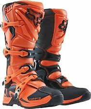 Fox Racing Comp 5 2016 Youth MX/Offroad Boots Orange