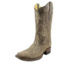 Corral R1365 Women  Square Toe Leather Gray Western Boot