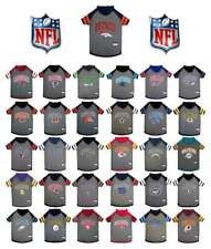 NFL DOG HOODIE TEE SHIRT * All Teams Available * 4 Sizes * Football Fan Pet Gear