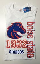 NCAA Boise State Broncos Junior Ladies Classic Collegiate Printed Tee shirt NWT.