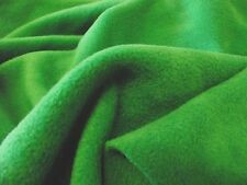QUALITY Anti Pil Polar Fleece Fabric Material - EMERALD GREEN