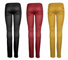 NEW ONLY Ladies' Leggings Jeans Pants ULTIMATE LOW COATED PANT yellow-gold SALE